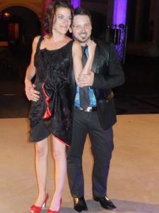 Christine Vézina  et Olivier Fortin