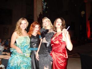 Agathe, Sarah-Lee, Mélanie, Anne-sophie