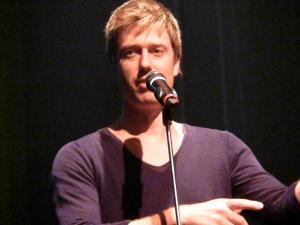 Mathieu Lippé, animateur de la soirée