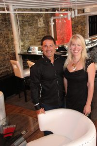 les propriétaires de la Galerie Lounge, François-Guy Thivierge et Josée-Gabrielle La Bar