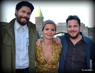 Le Jury : Carlo Guillermo Proto,  Anaïs Barbeau-Lavalette et Maxence Bradley