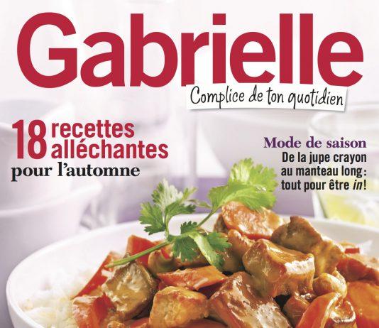 Gabrielle complice de ton quotidien