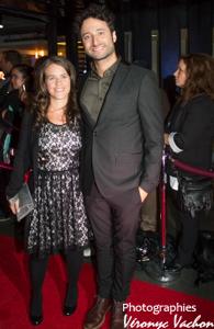 Louis-Jean Cormier et sa femme