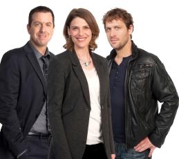 Patrice Robitaille, Hélène Florent, Kevin Parent