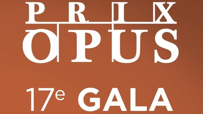 17e Gala  Prix Opus