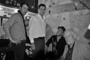 Chet Doxas, Jim Doxas, Dave Douglas et Steve Swallow