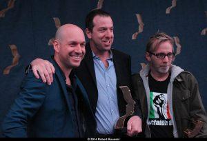 Martin Matte, Patrice Robitaille et François Avard, trois grands gagnants pour les beaux malaises