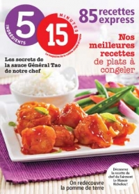 Magazine 5-15 85 recettes express