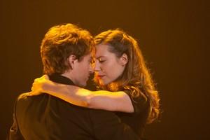 Magalie Lépine-Blondeau (Louise)  et Benoît McGinnis (Alex Lapointe)