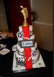 Gâteau du Gala Artis © photo: Marc Young