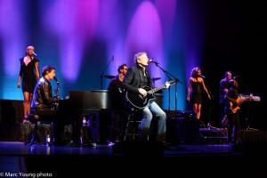 Michael Bolton avec ses musiciens © photo: Marc Young
