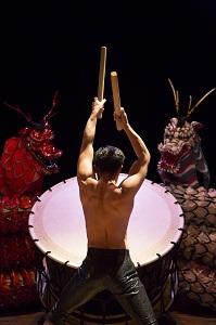 Le taiko (tambour japonais)