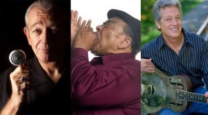 Charlie Musselwhite, James Cotton, John Hammond  © photo: courtoisie