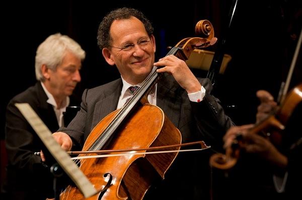 Denis Brott et son violoncelle