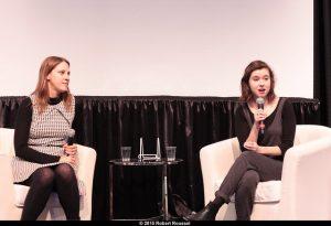 India Desjardins et Marianne Verville