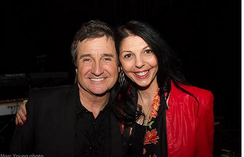 René Simard, Bianca Favasuli © photo: Marc Young