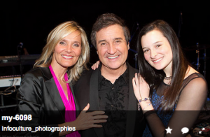 Marie-Josée Taillefer, René Simard, Rosalie Simard © Marc Young