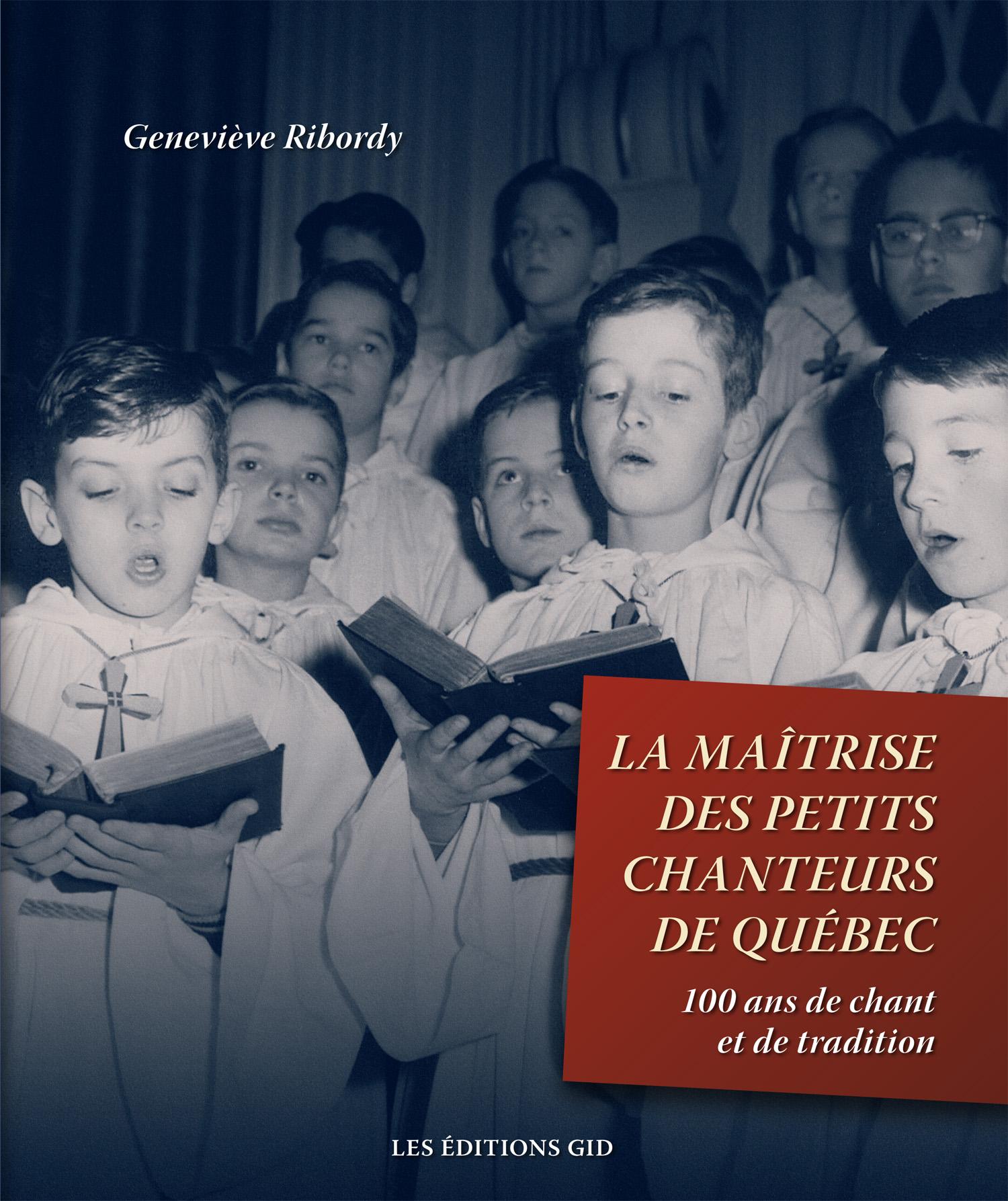 Lancement du livre La Maîtrise des petits chanteurs de Québec