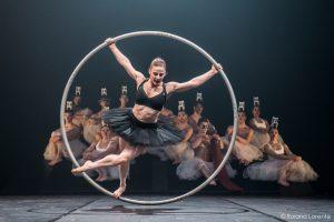 Rachel Salzman à la roue Cyr