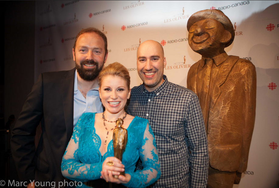Julien Tapp, Cathy Gauthier, Pierre Folla  © photo: Marc Young