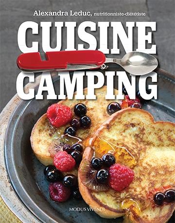 Couverture du livre Cuisine Camping
