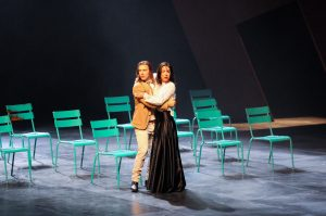 Francis Ducharme (Perdican) et Alice Pascual (Camille) © Gunther Gamper