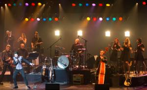 Les musiciens et David Thibault