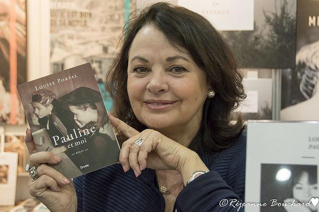 Louise Portal et son roman Pauline et moi