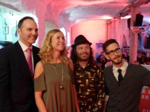Philippe Poulin, Julie Lemieux, Olivier Bilodeau, Yan G.