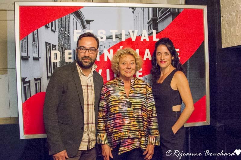 Ève Duranceau, Marie Eykel, et Martin Bureau