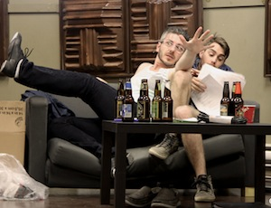 Jonathan Patterson ( Jessie ) et Sean Colby ( Mason) dans «A Song of Fiction»
