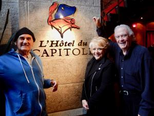 Entrevue au Capitole avec Joël Denis, Shirley Théroux et Pierre Marcotte