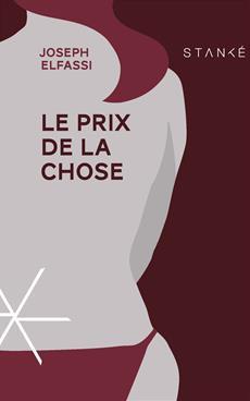 Joseph Elfassi: Le prix de la Chose © photo : courtoisie
