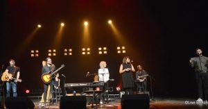 Ian Kelly,Luc De Larochelière, Ingrid St-Pierre, Elisapie et Guillaume Moffet de Socan Photo @Lise Breton