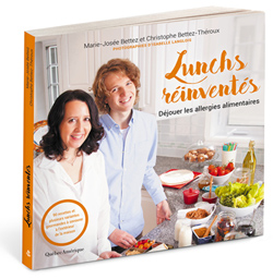 Couverture du livre Lunchs réinventés
