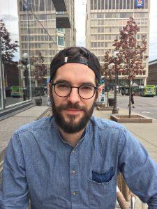 Mat Vezio en entrevue à Québec