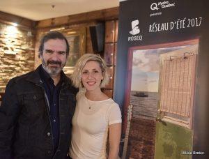 Pierre Flynn et Ingrid St-Pierre Photo @Lise Breton