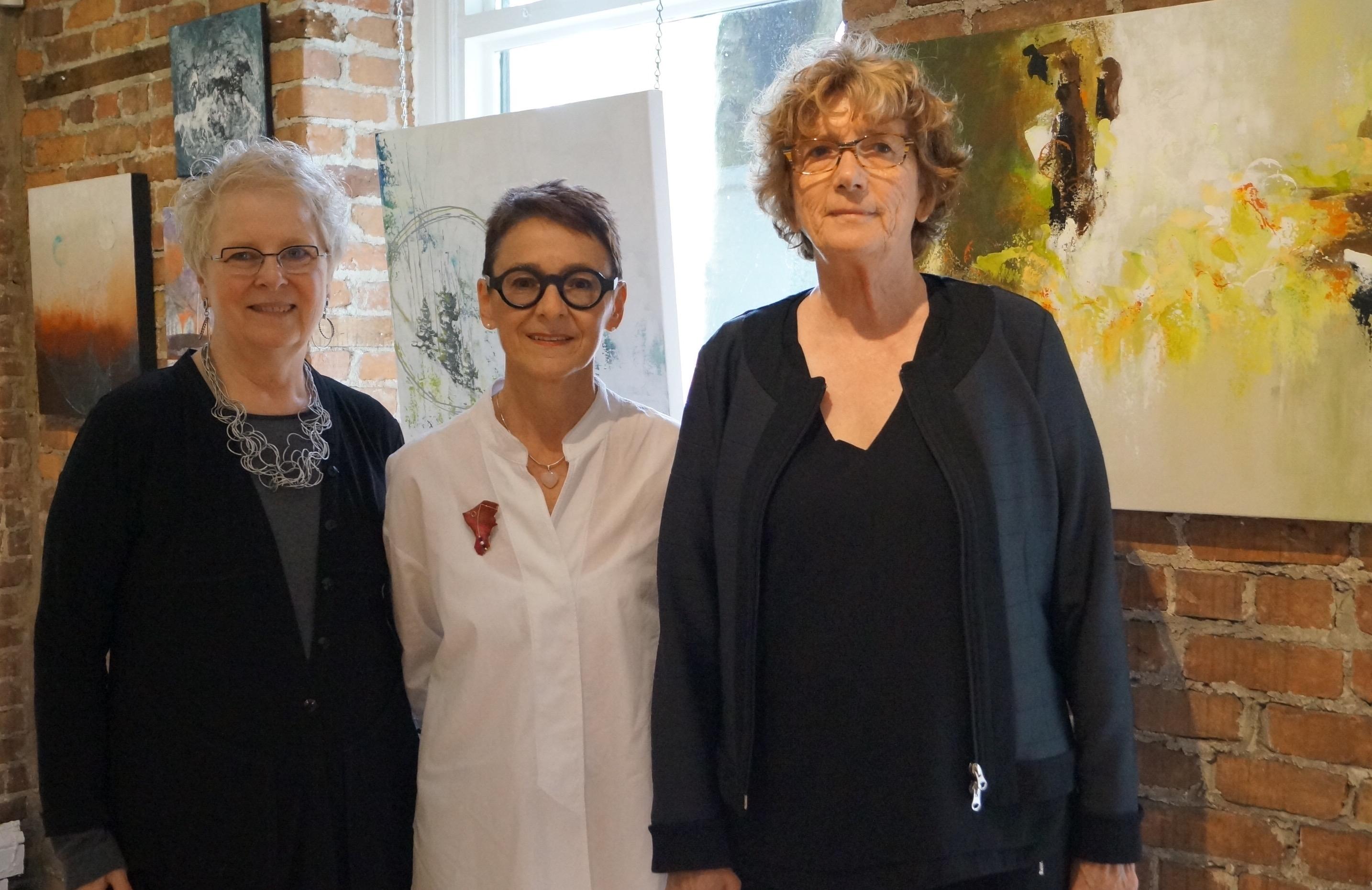 Suzanne Royer, Danielle Boulet et Margot Bujold