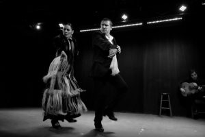 Antonio Granjero et Estefania Ramirez (danse) et Angel Ruiz (guitare) - Festival Flamenco de Montréal © Morgan Smith