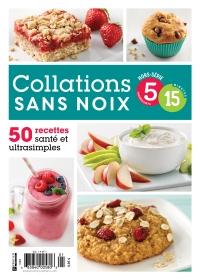 Collation-sans-noix 5 ingrédients 15 minutes