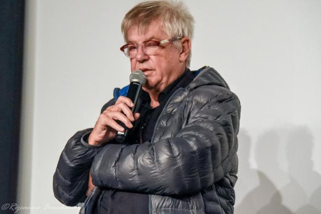 André Forcier répondant aux questions des spectateurs