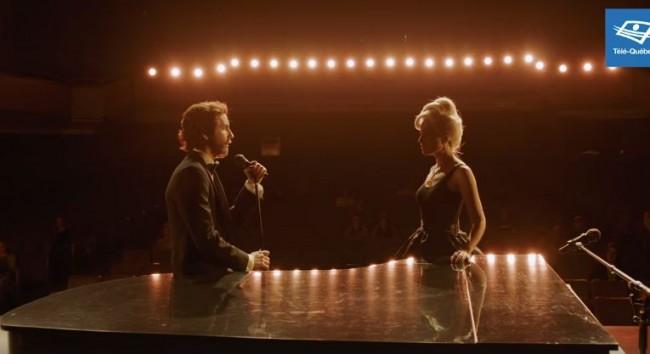 Reprise de la chanson Shallow par Sarah-Jeanne Labrosse et Pierre-Luc Funk