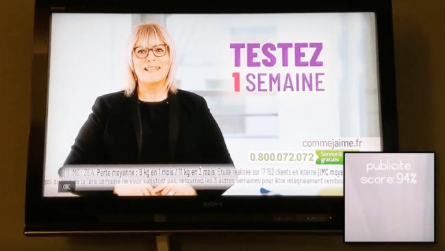 Une intelligence artificielle pour couper le son des publicités à la télévision