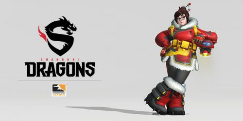 Logo Shanghai Dragons