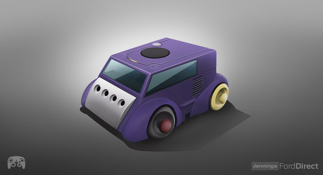 console cars gamecube