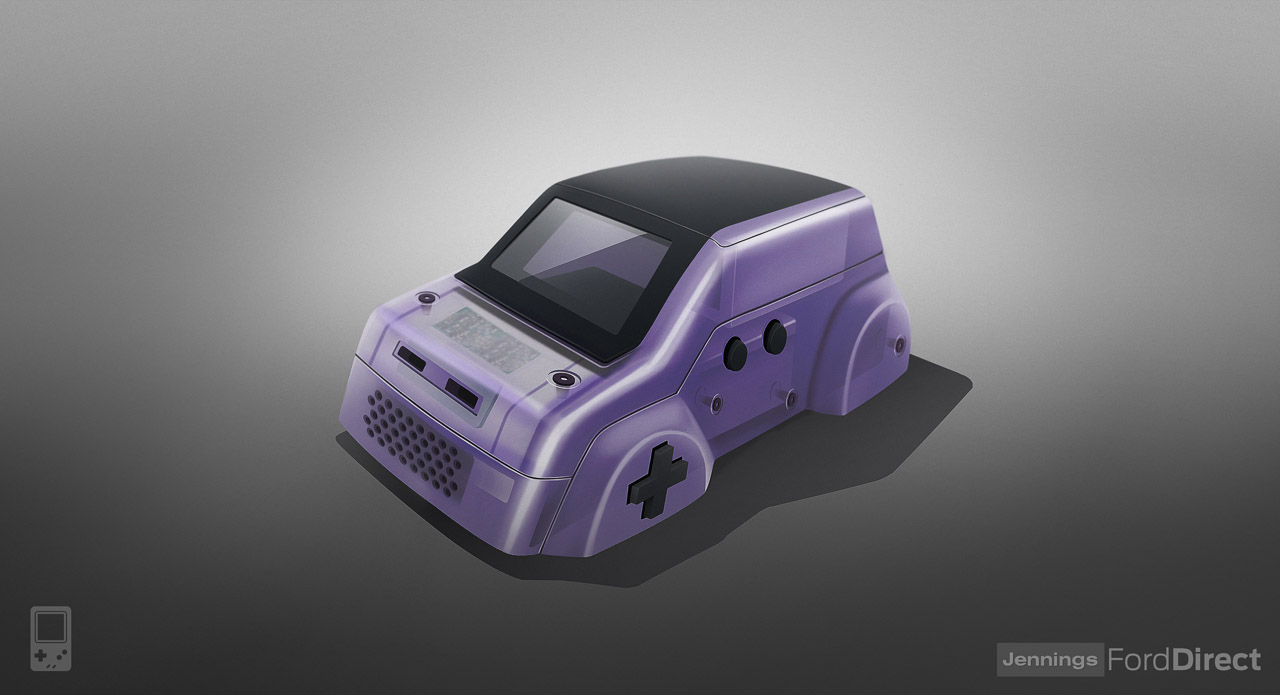 console cars game boy