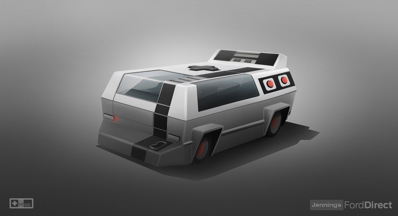 console cars nes