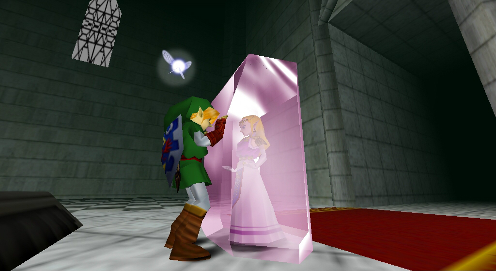 Legend of Zelda Ocarina of Time Zelda Captured