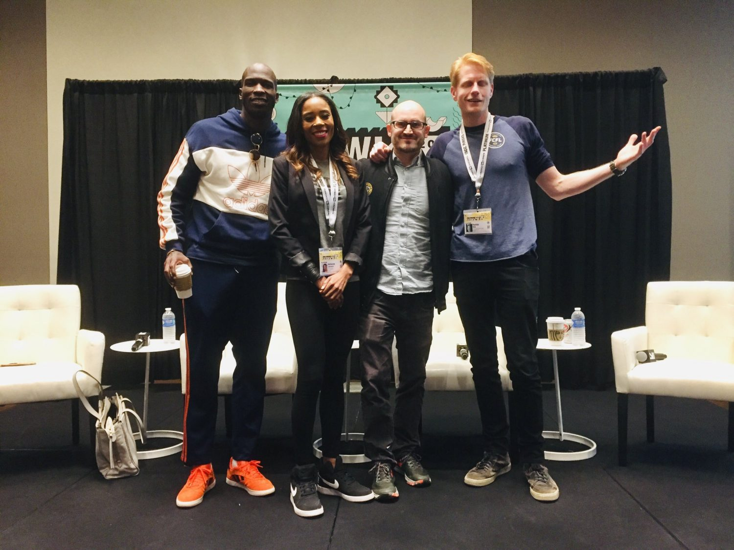 Photo du panel « The eSports Gamification of Real Sports »