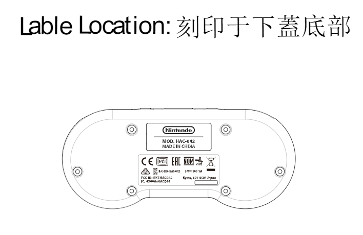 manette snes switch